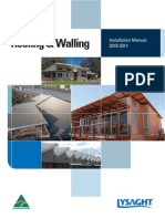 LysaghtRoofingWallingInstallationManual23Sept2010