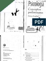 Psicología Conceptos preliminares Scaglia