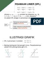 2. Sistem Pers Linear