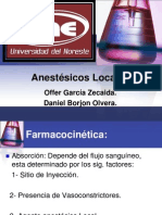 Anestesicos Locales.