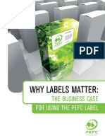 PEFC Why Labels Matter