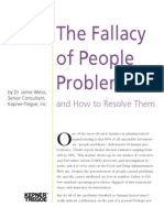 The Fallacy of People Problems