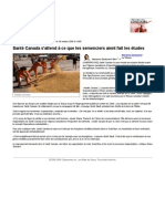 Santé Canada s'attend à ce que les semenciers aient fait les études | Économie