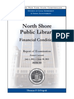 North Shore Public Library audit