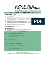 2014 NC Voter Guide
