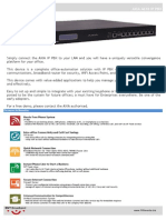 Axia A610 IP PBX Brochure
