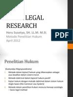 Socio Legal Research