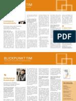 TIM CONSULTING Newsletter Januar 2014