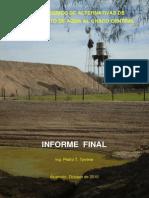 Estudio de Alternativas de Abastecimiento de Agua Al Chaco Central