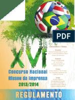 Regulamento Concurso Museu XVI Folheto