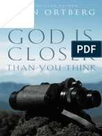 God Is Closer Thank You Think Sample