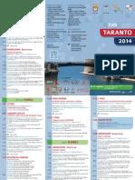 XVIII Convegno annuale AIRTUM Taranto 9-11 aprile 2014 Programma Taranto Web