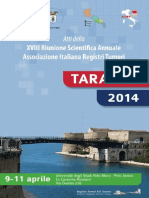 XVIII Convegno annuale AIRTUM Taranto 9-11 aprile 2014 Atti Definitivo Web