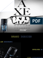 Praxis Business School- Axe Brand Dossier