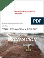 4.1 Excavacion y Relleno