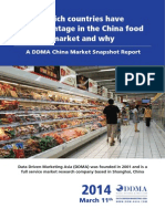 Ddma China Food Import Market