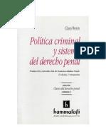 32574894 Politica Criminal Roxin Claus