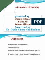 Theories & Models of Nursing