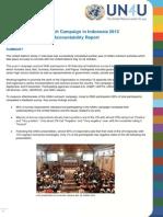 UN4U 2013 Accountability Report for UNCG