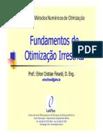 02 - Fundamentos de Otimizacao Irrestrita