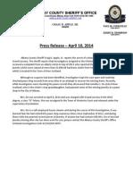 House Cleaner Arrest 4-10-2014