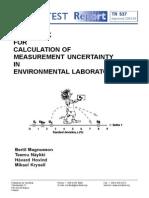 Handbook incertidumbre nórdico 2003