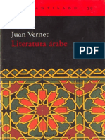 Literatura Arabe - Juan Vernet