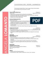 LoManto - Resume