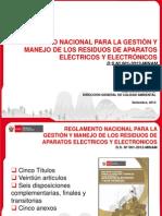 Reglamento RAEE Arequipa