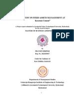 CD 14 Fixed Asset Kesoram