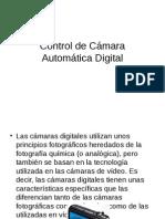 Control de Camara Automatica Digital