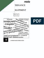Governance and Development 1992