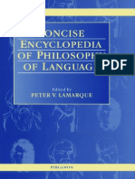 Concise Encyclopedia of Philosophy of Language - Pergamon
