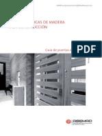 Guía técnica de maderas en construcción. Puertas de madera