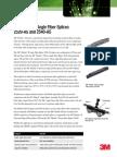 3M™ Fibrlok™ Angle Fiber Splices 2529-AS and 2540-AS