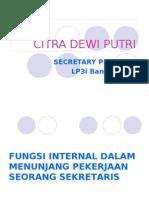 Presentasi Sekretaris