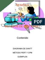 Ejemplo Gantt y Pert