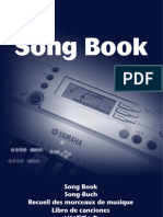 1D - Song Book. Yamaha. China. 2005