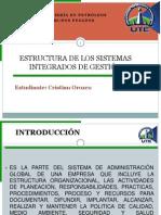 Estructura Sig Cristian Orozco