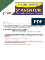 Formulário de  Inscrição -  Aventuri 2014_ok