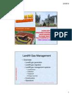 Landfill Gas Management