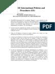 TelexFREE International Políticas y Procedimientos