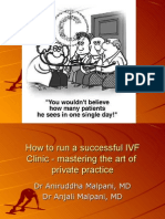 How to Run a Successful Practise - Dr. Malpani