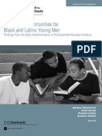 Executive Summary_Promising Opportunities for Black and Latino Young Men (2014)