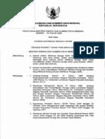 Aturan Distribusi Tenaga Listrik Permen 04 2009