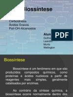 Biossíntese - Trabalho