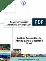 Prospectivo Rural