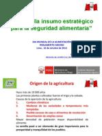 Día Mundial de la Alimentación 2013 - Semilla Insumo Estratégico para la Seguridad Alimentaria