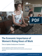 The Economic Importance of Women's Rising Hours of Work