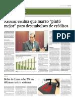 BVL sube 2% en últimas cuatro sesiones_Gestión 10-04-2014